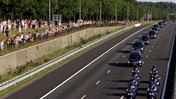 Raw: Mourners Gather As MH17 Bodies Tr