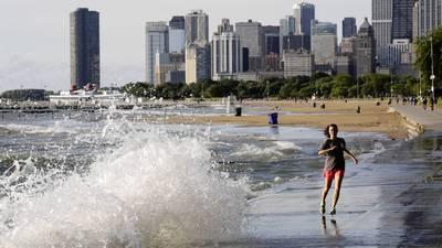 Swimmers warned of rip currents, dangerous waves on lake today