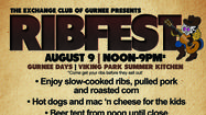 12th Annual Exchange Club Ribfest to be Held Aug. 10