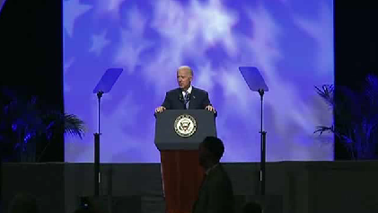 Biden decries voting restrictions in NAACP talk [Video]