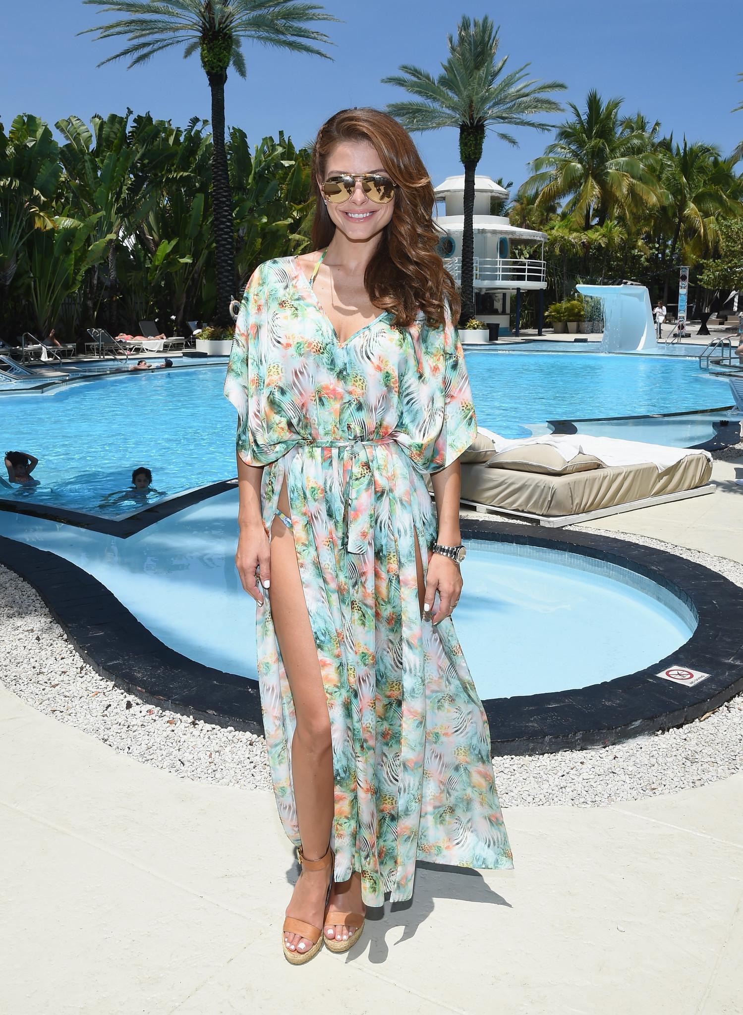 Celeb-spotting around South Florida - Mercedes-Benz Fashion Week Swim 2015 Official Coverage - Day 3