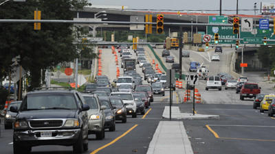 Traffic tie-ups to ease as Russell Street work wraps up