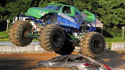 Monster trucks plow into 4-H Fair lineup
