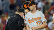Orioles blow late lead, chance at sweep in 3-2 loss to Angels on Wednesday night