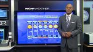 Video: Cool and sunny today, warm and rainy this weekend