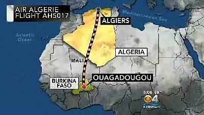 Missing Air Algerie flight has crashed: Algerian official