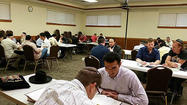 In Skokie, Digging Deep Into Torah at the Start of the Day