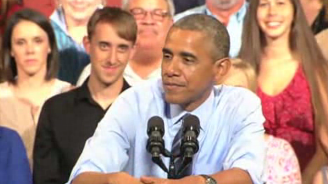 Video: President to dem donors: 'You're chronicling the slow deterioration Barack Obama'