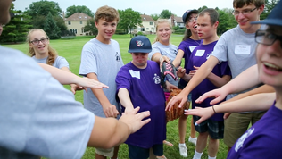 Video: Buddy Baseball program makes kids rising stars