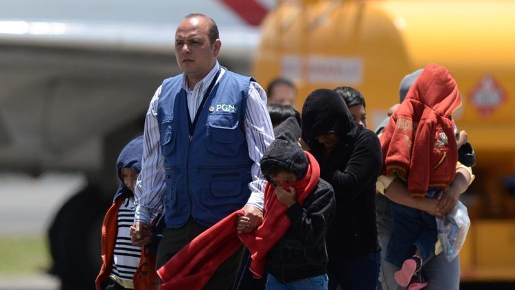 Guatemalan migrant children
