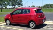 2014 Mitsubishi Mirage pushes fuel economy, value
