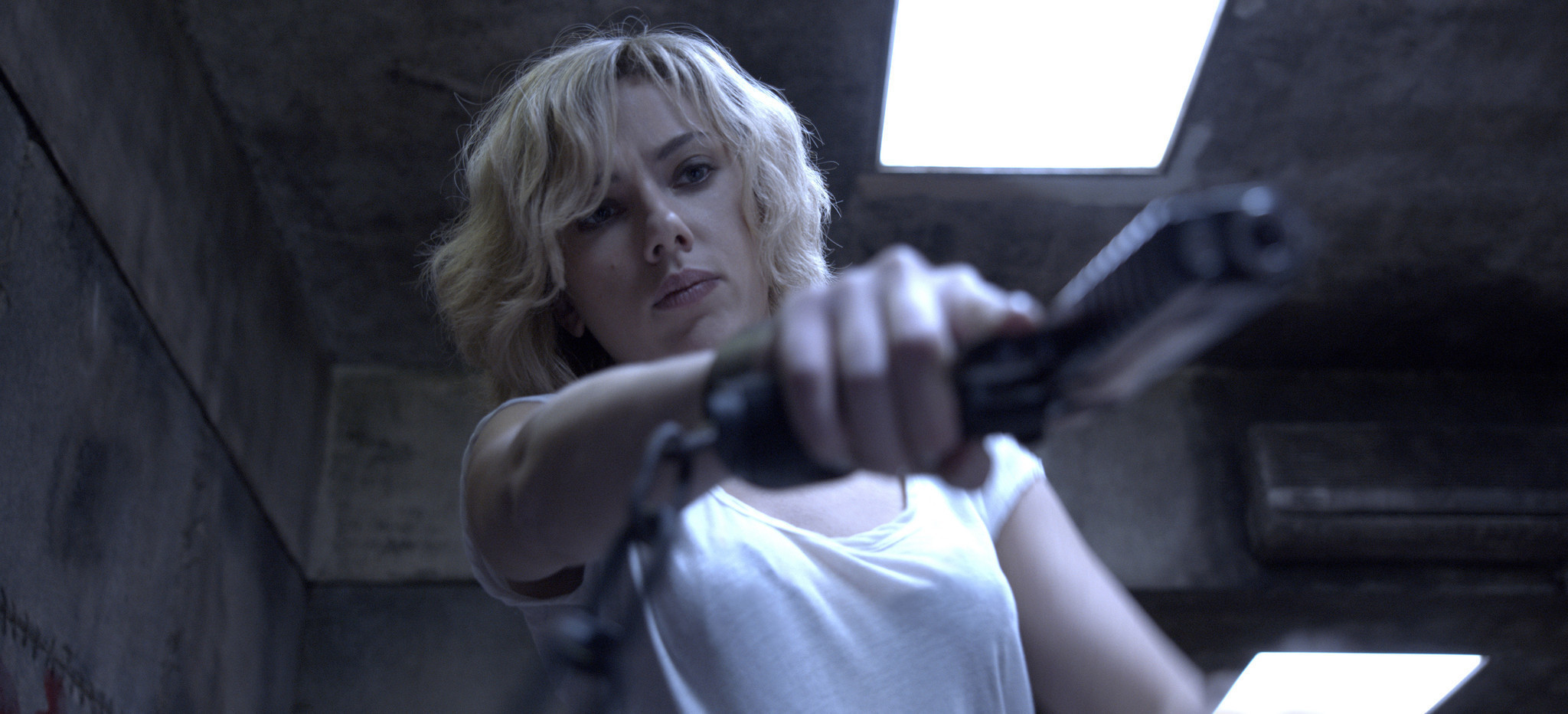 'Lucy' has more firepower than brain power, reviews say