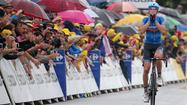Navardauskas wins Tour's 19th stage