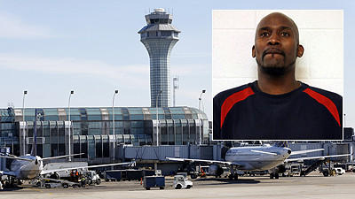 O'Hare worker charged with stealing from military footlockers