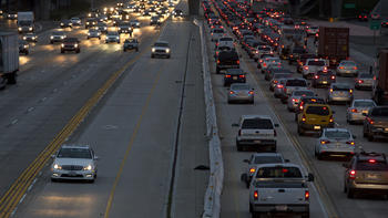 405 Freeway toll lanes