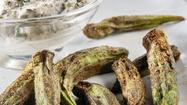 Slime-free approach to cooking okra