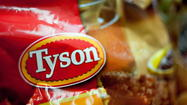 Tyson Foods to shut three prepared food plants