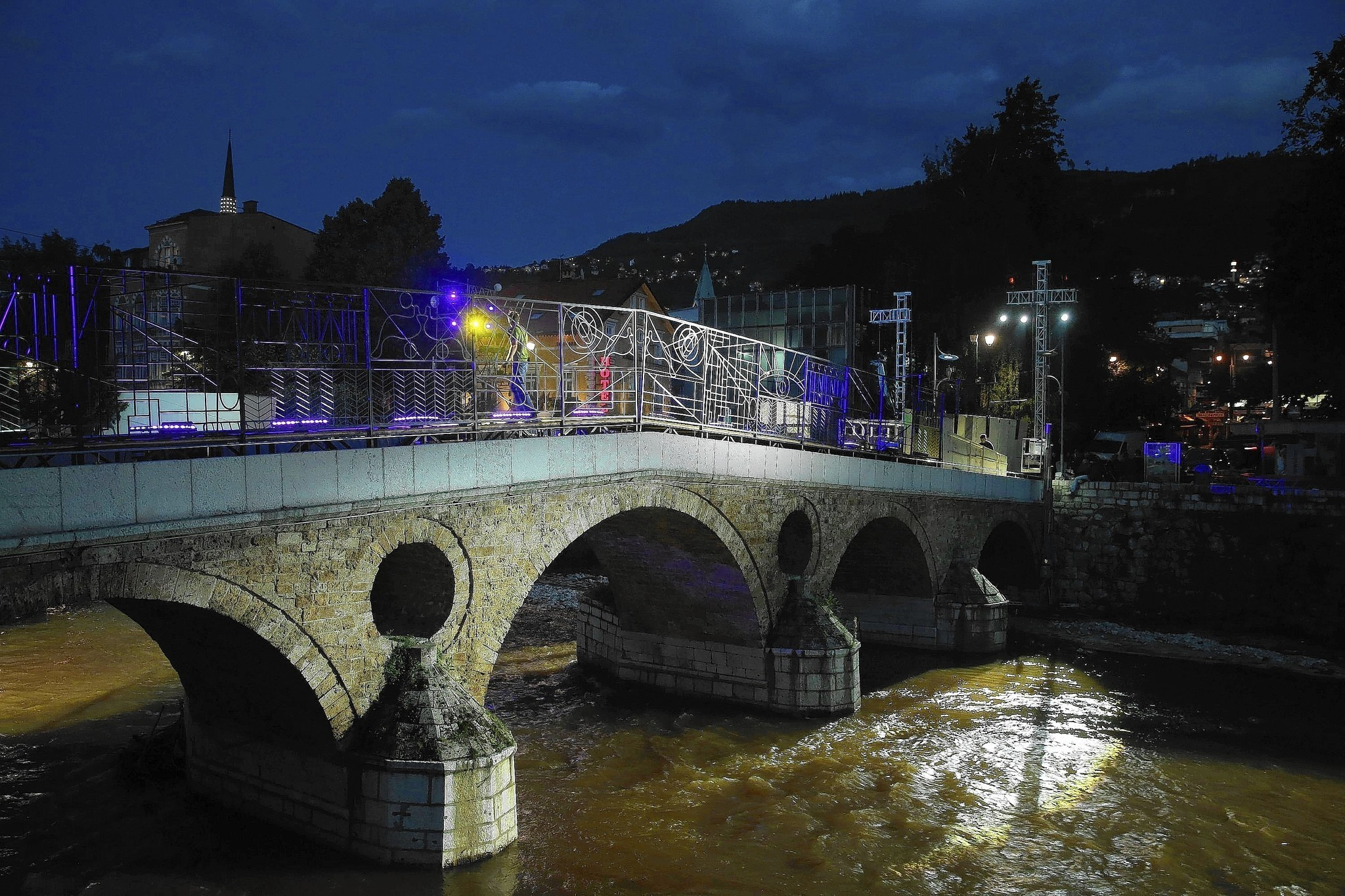 Sarajevo begins to heal from its haunted history