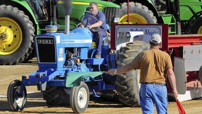 Tractor pullers compete for bragging rights at 4-H Fair