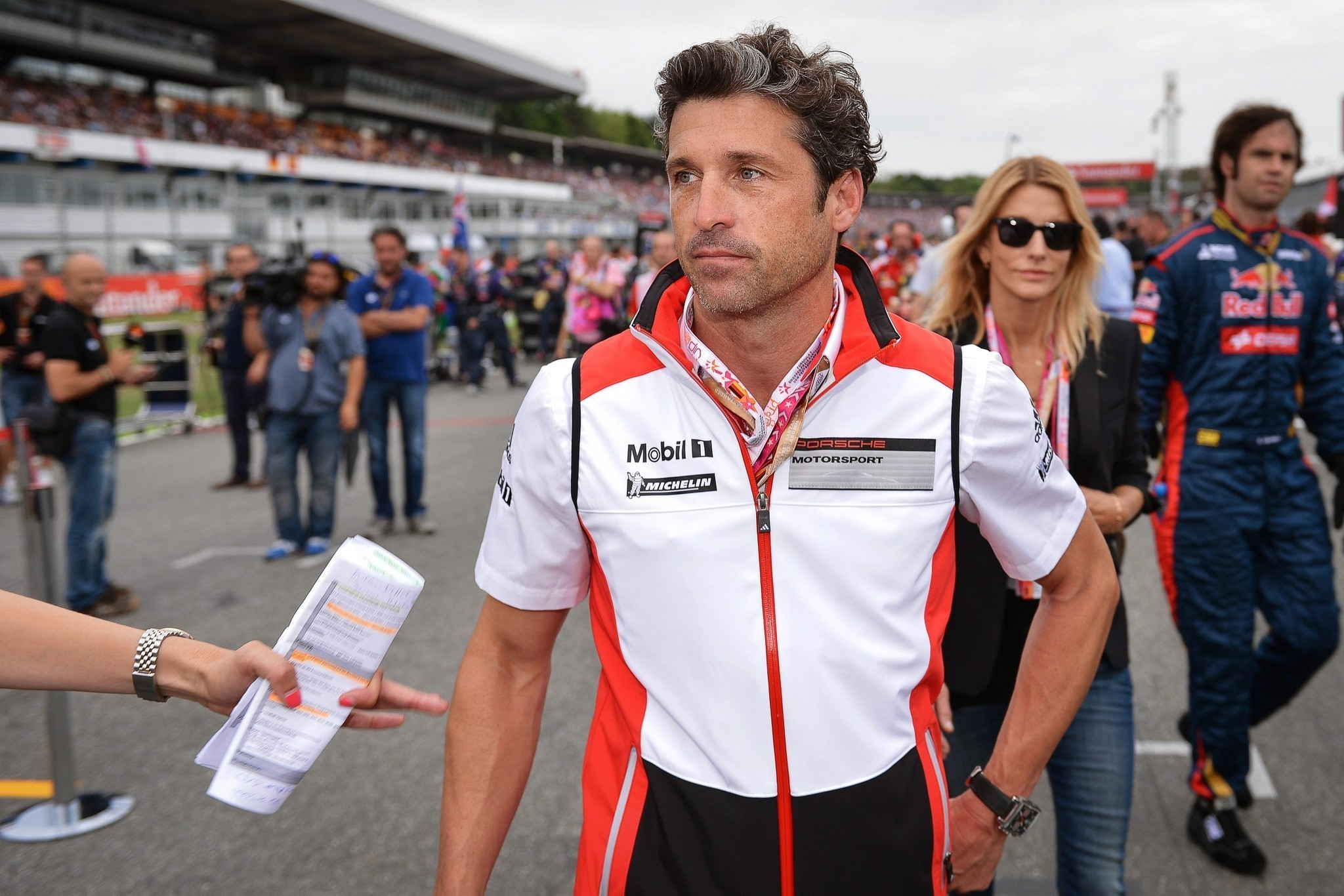 For actor Patrick Dempsey, racing cars is nearly a full-time job