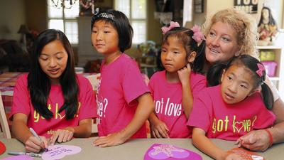 After daughter's death, family works to create center for Chinese orphans