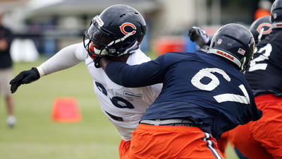 Another practice, another skirmish at Bears camp