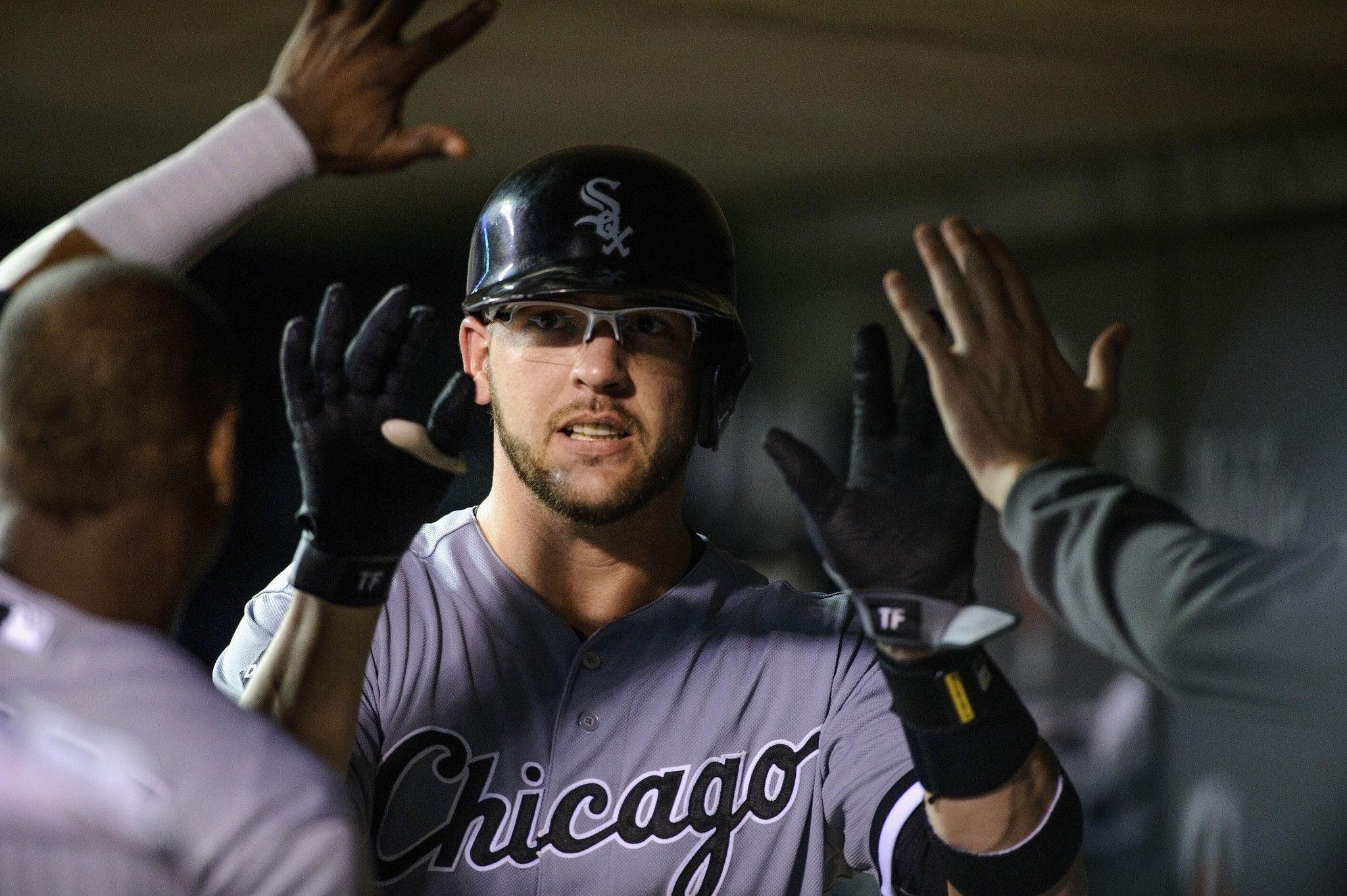 Tyler flowers batting surge is eye opening baseball chicago whether its the glasses he has been wearing recently or adjustments he has made white sox catcher has been on tear mightylinksfo