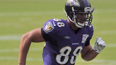 Exactly a year after major hip injury, Ravens' Dennis Pitta says he's 100 percent