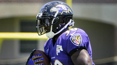 Attention turns to Ravens running back Bernard Pierce for early contributions