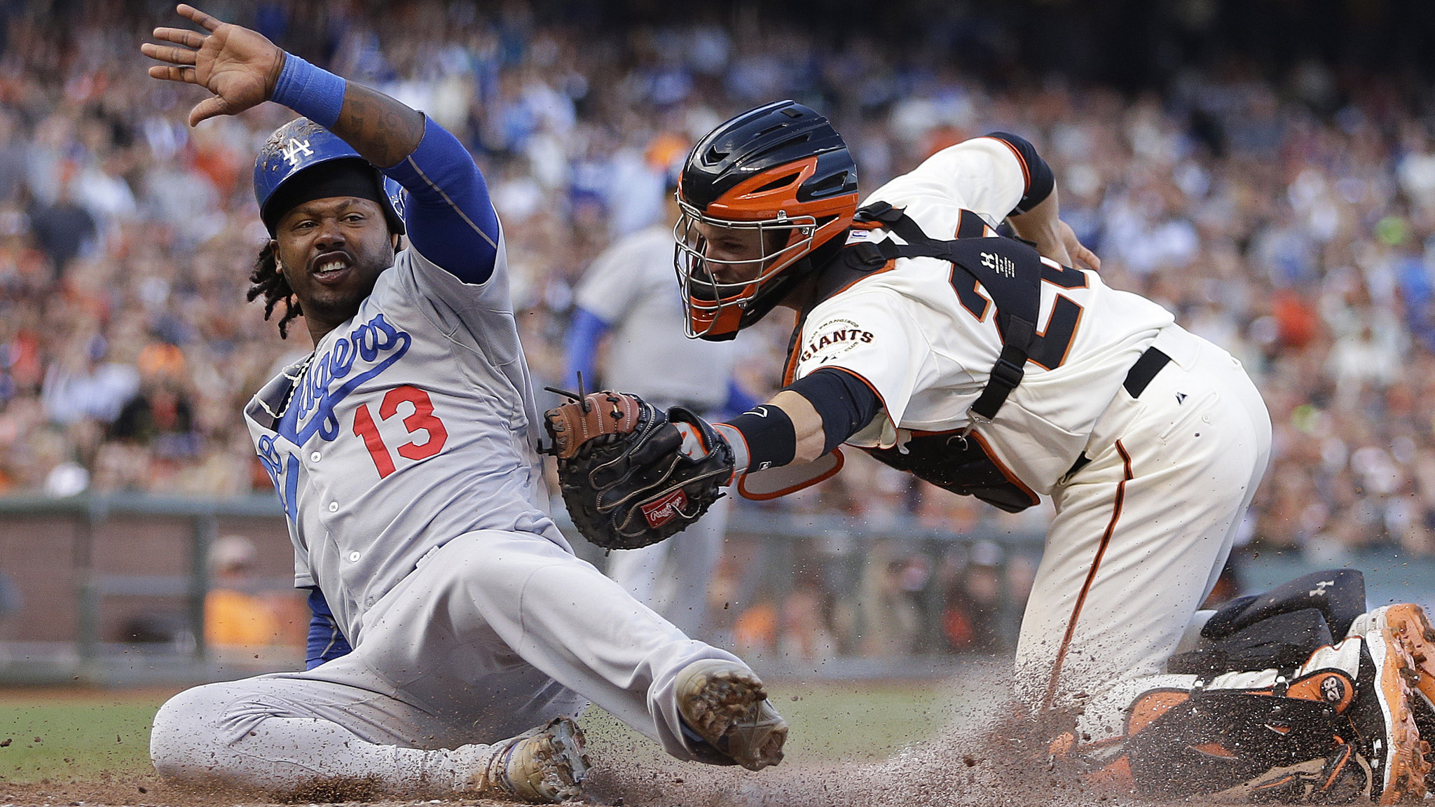 Dodgers have a weekend to remember, sweeping Giants with 4-3 win