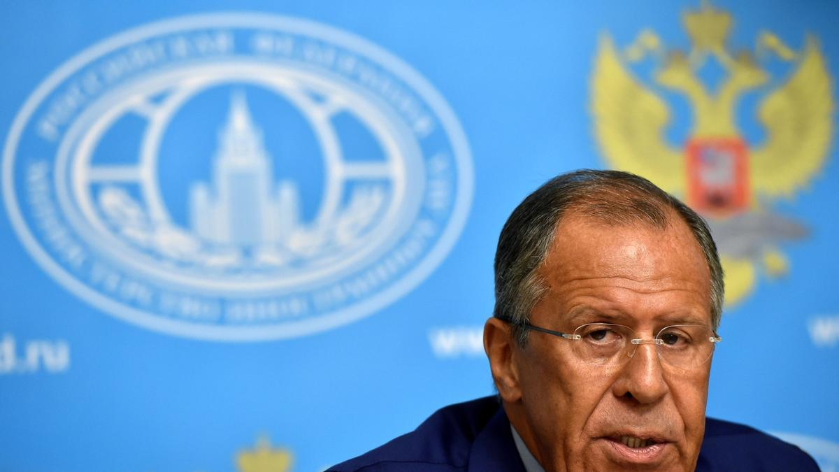 In Putin's absence at the U.N. Russian Foreign Minister Sergei Lavrov will speak Thursday