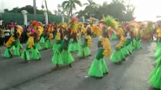 Haitians party for the Carnival of Flowers