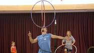Hula Hoop Action at Towson Library [Pictures]