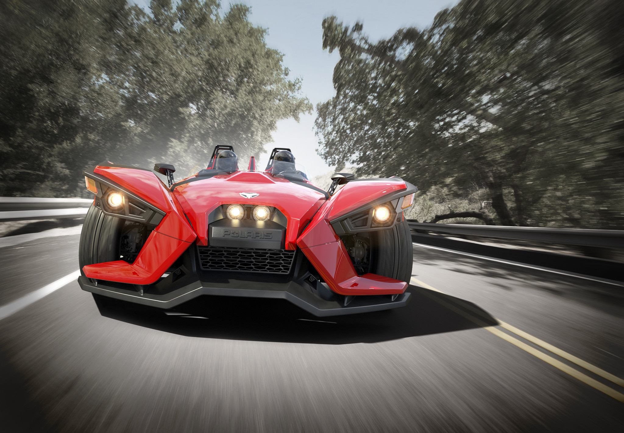 Polaris Slingshot three-wheeled roadster debuts