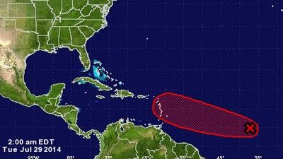 New tropical wave likely to strengthen