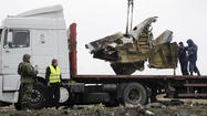 Malaysian plane crash [graphic content]
