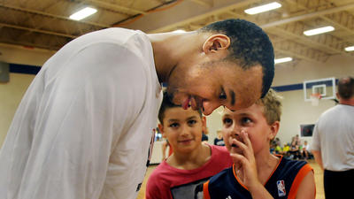 Shabazz Teaching At Camp, But Main Goal Is To Help Heat