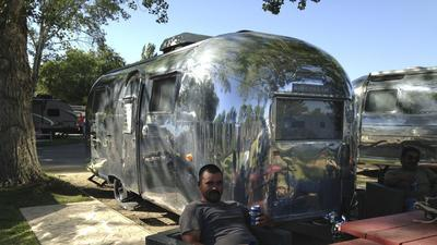 Airstream trailers enjoy resurgence in sales, as fixed lodging