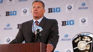 Terps at Big Ten football media days [Pictures]