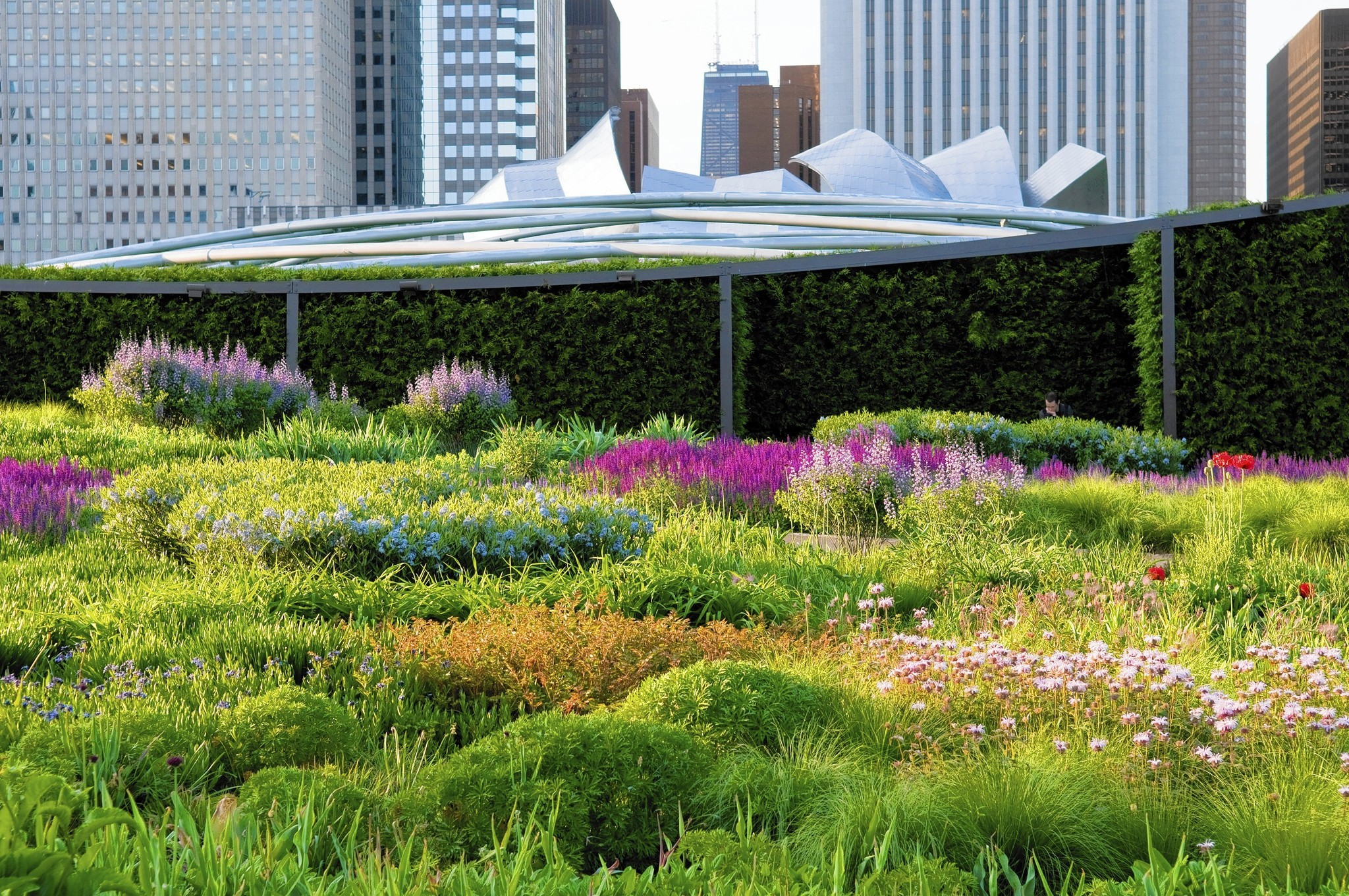 Lurie garden chicago tribune for The landscape gardener