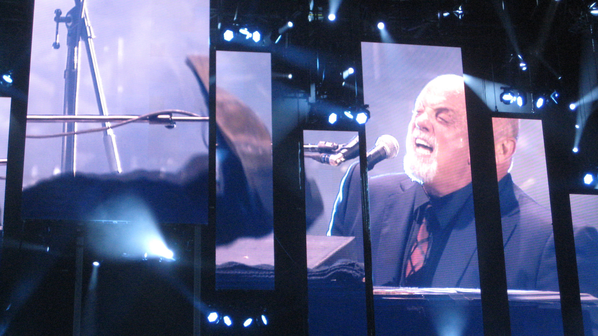 Billy Joel played Nationals Park in Washington over the weekend.