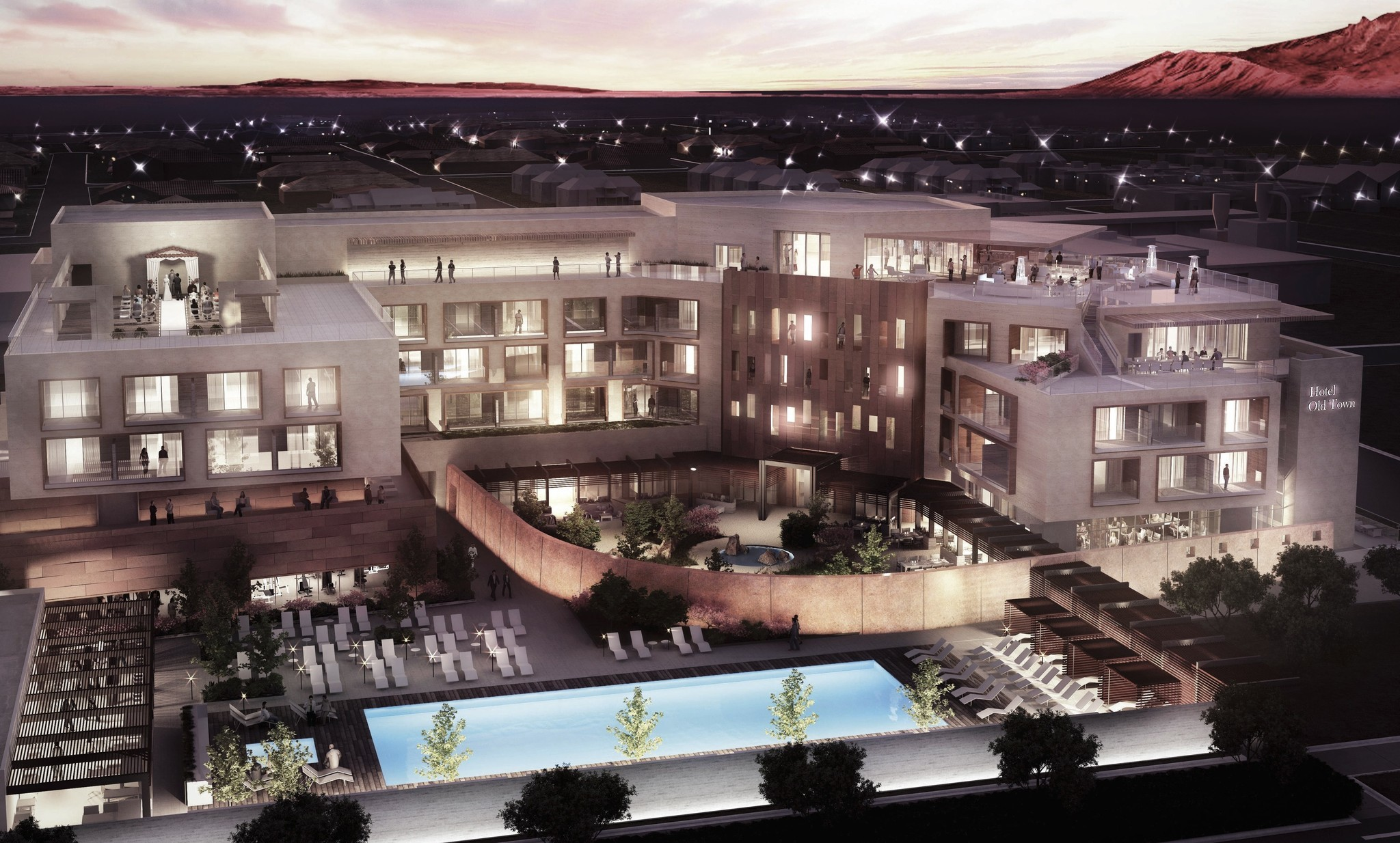 New Mexico Albuquerque To Gain Modern Hotel Inspired By The Ancients La Times
