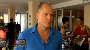 Woody Harrelson hosts charity dinner at Black Olive [Video]