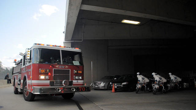 Raw: Firefighters respond to call at M&T Bank Stadium [Video]