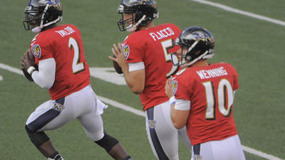 Ravens face tough roster decisions with numbers at quarterback