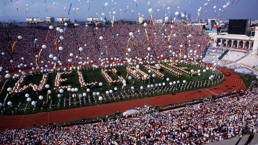 The legacy of the 1984 Olympic Games in Los Angeles continues to live on in the local community.