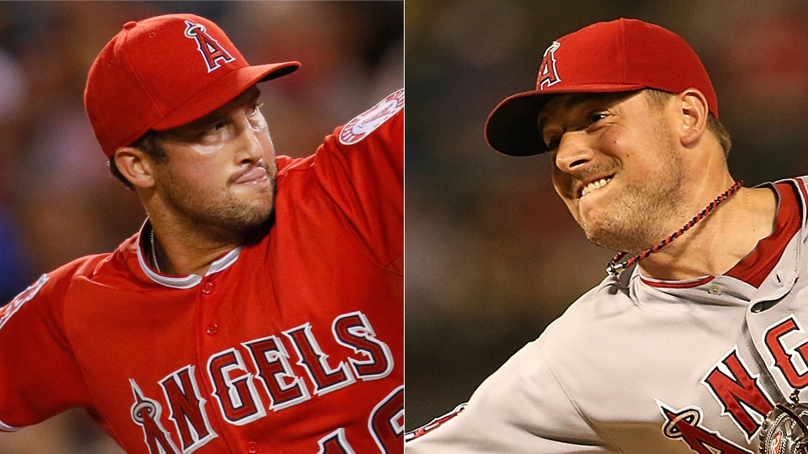 Angels bullpen has room for two aces: Huston Street and Joe Smith