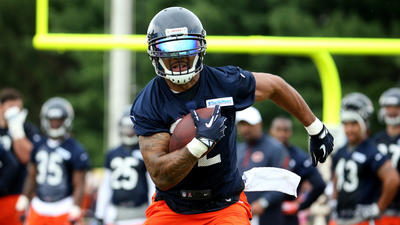 Bears have logjam in battle for backup running back