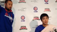 Video: Cubs' Wada on his first MLB win