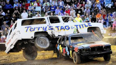 Demolition derby attracts largest field ever